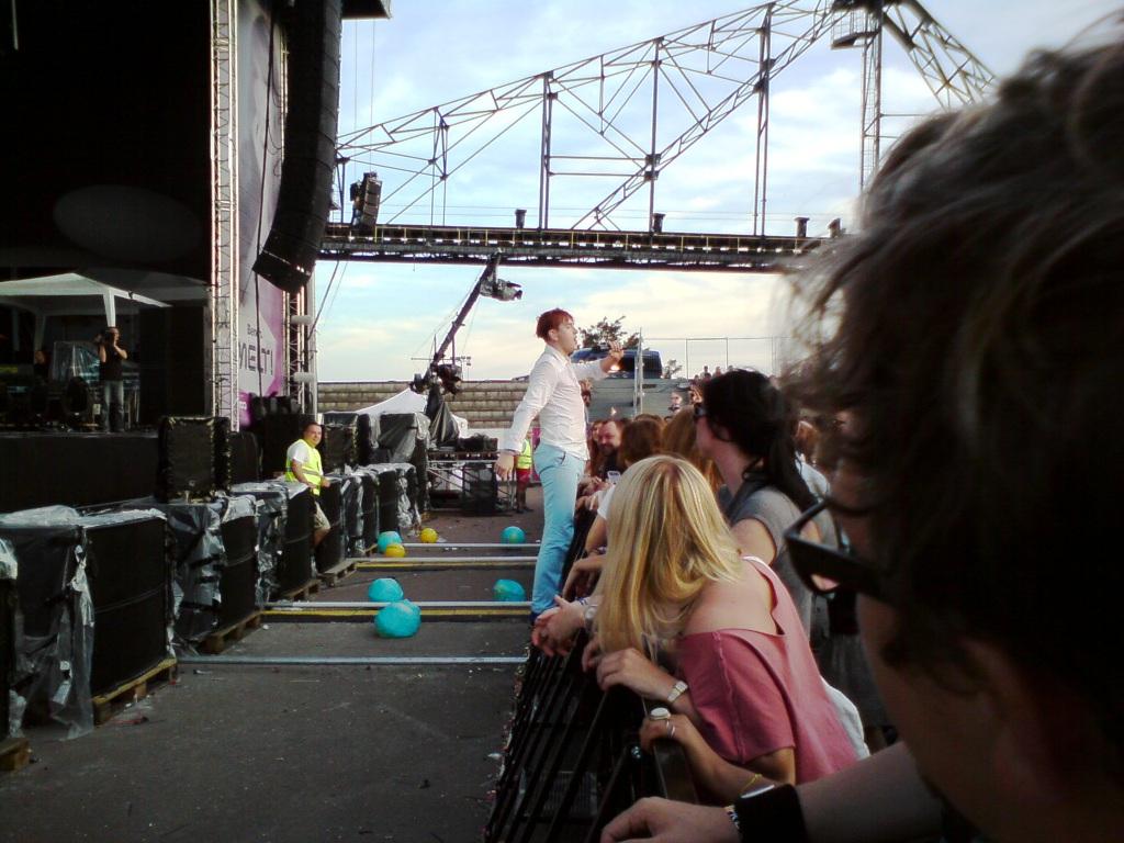 Patrick Wolf at Melt! Festival 2011