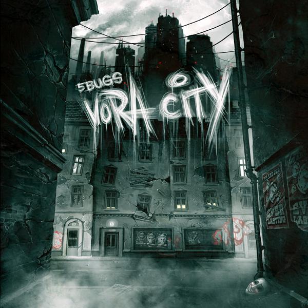 5Bugs - Vora City - Cover