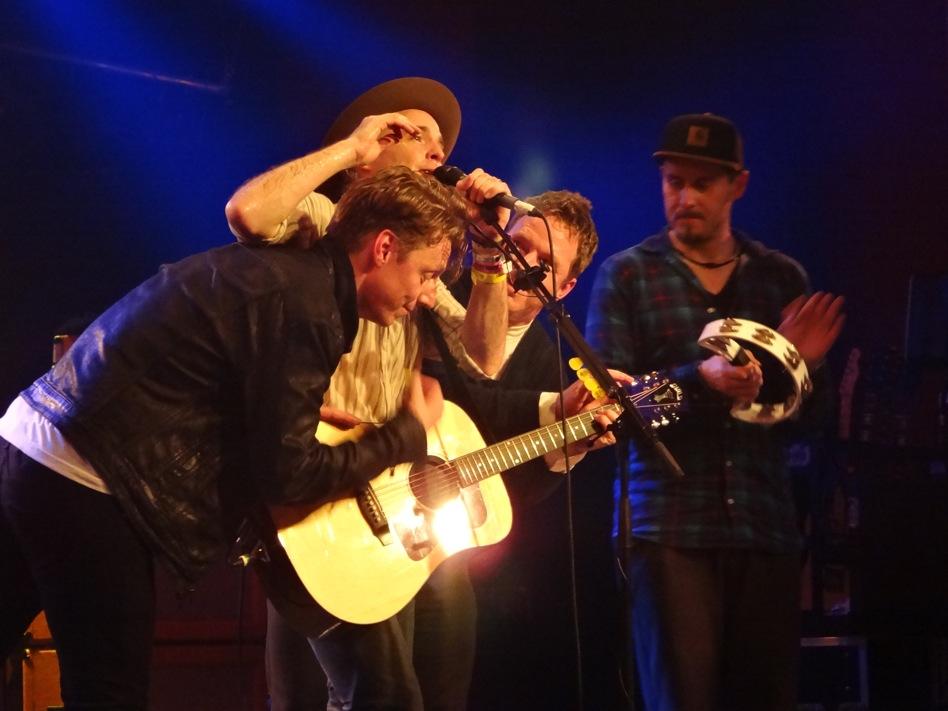 Travis live (Credit: Anne Bonkowski/MusikBlog)