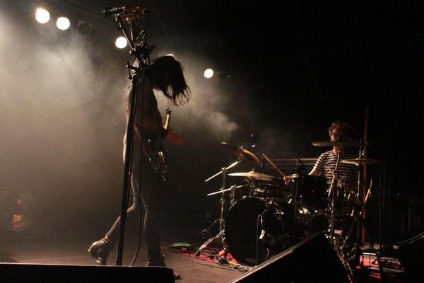 Blood Red Shoes live (Credit Valerie Masyuta/MusikBlog)