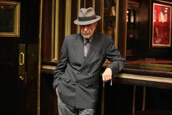 Leonard Cohen (Credit Sony Music)