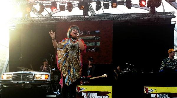 Miss Platnum (Credit Hannah Zink MusikBlog)