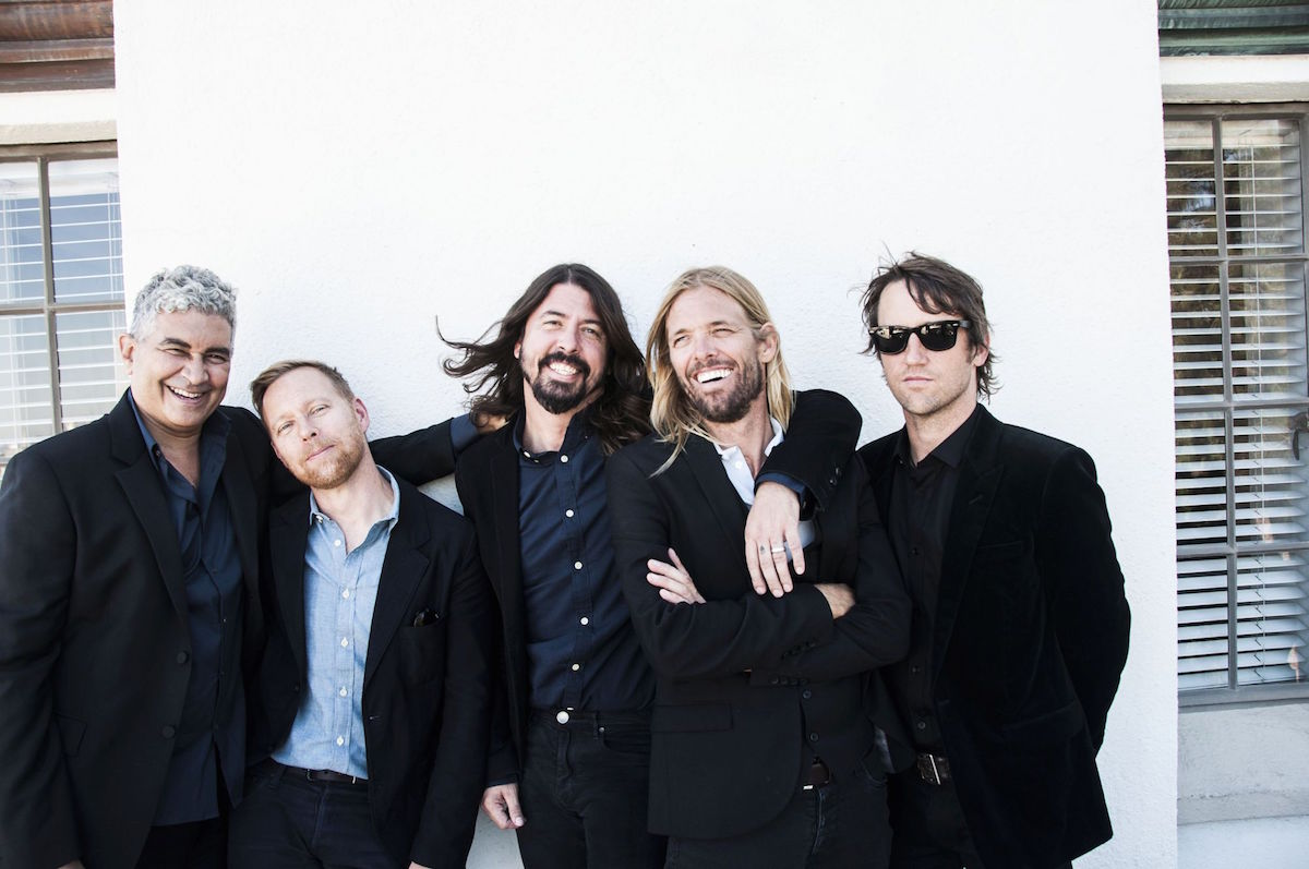 Foo Fighters (Credit Ringo Starr)