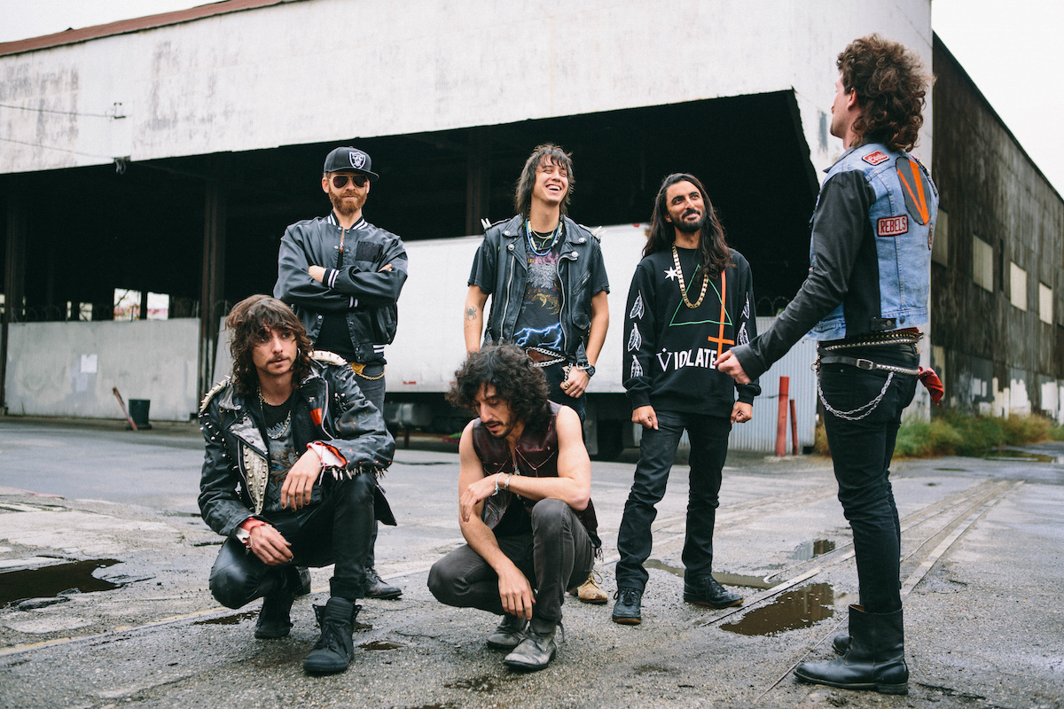 Julian Casablancas + The Voidz (Credit Abby Ross)