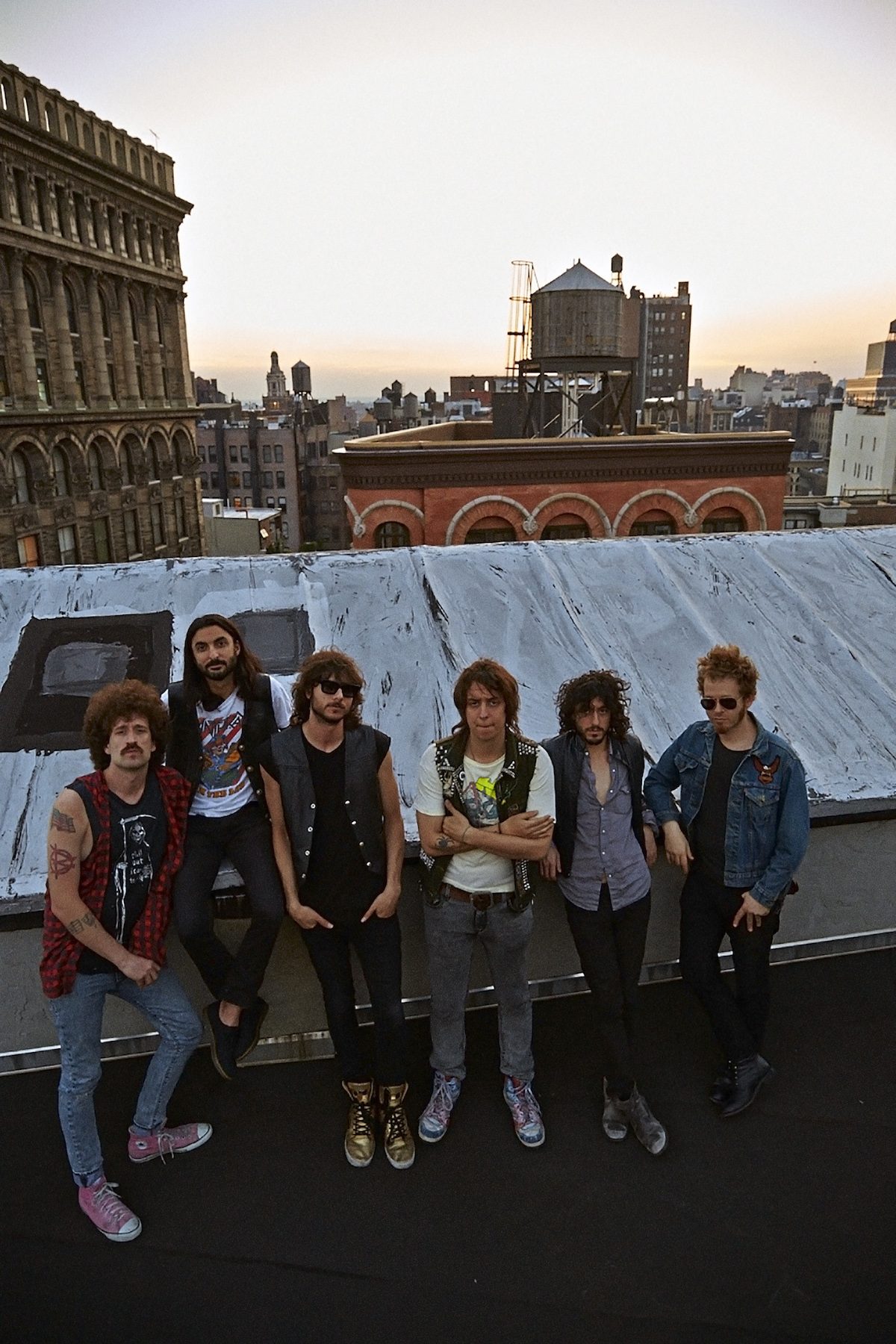 Julian Casablancas + The Voidz (Credit Colin Lane)