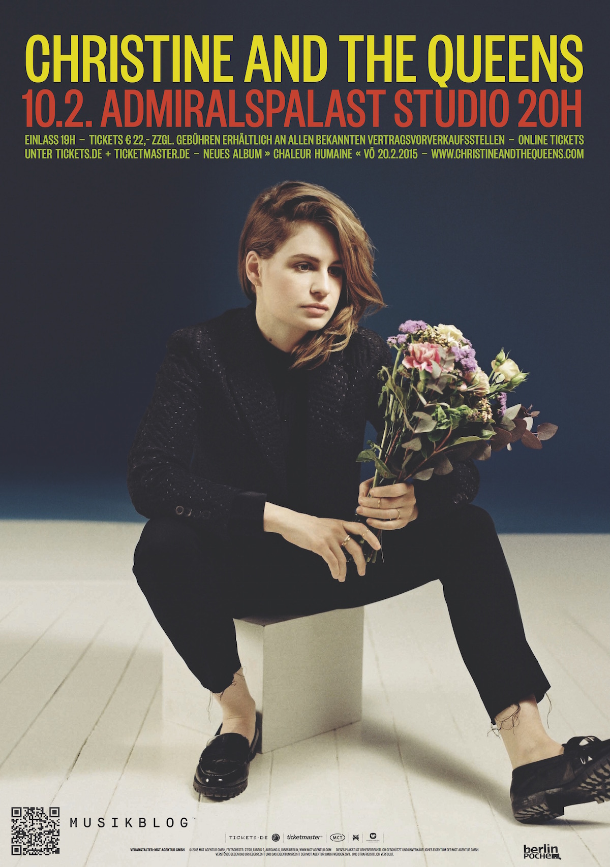 Christine And The Queens (Tourposter)