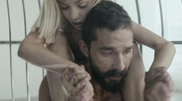 Sia feat. Shia LaBeouf & Maddie Ziegler – Elastic Heart (Credit: Sia & Daniel Askill)