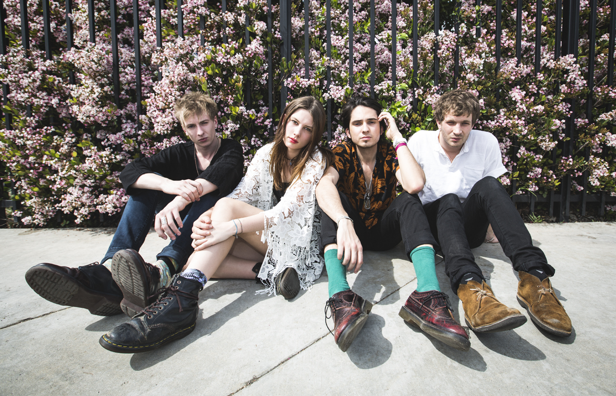Wolf Alice (Credit Jenn Five)