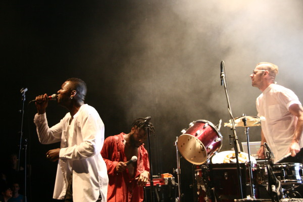 Young Fathers (Credit Mauricio Quinones/MusikBlog)