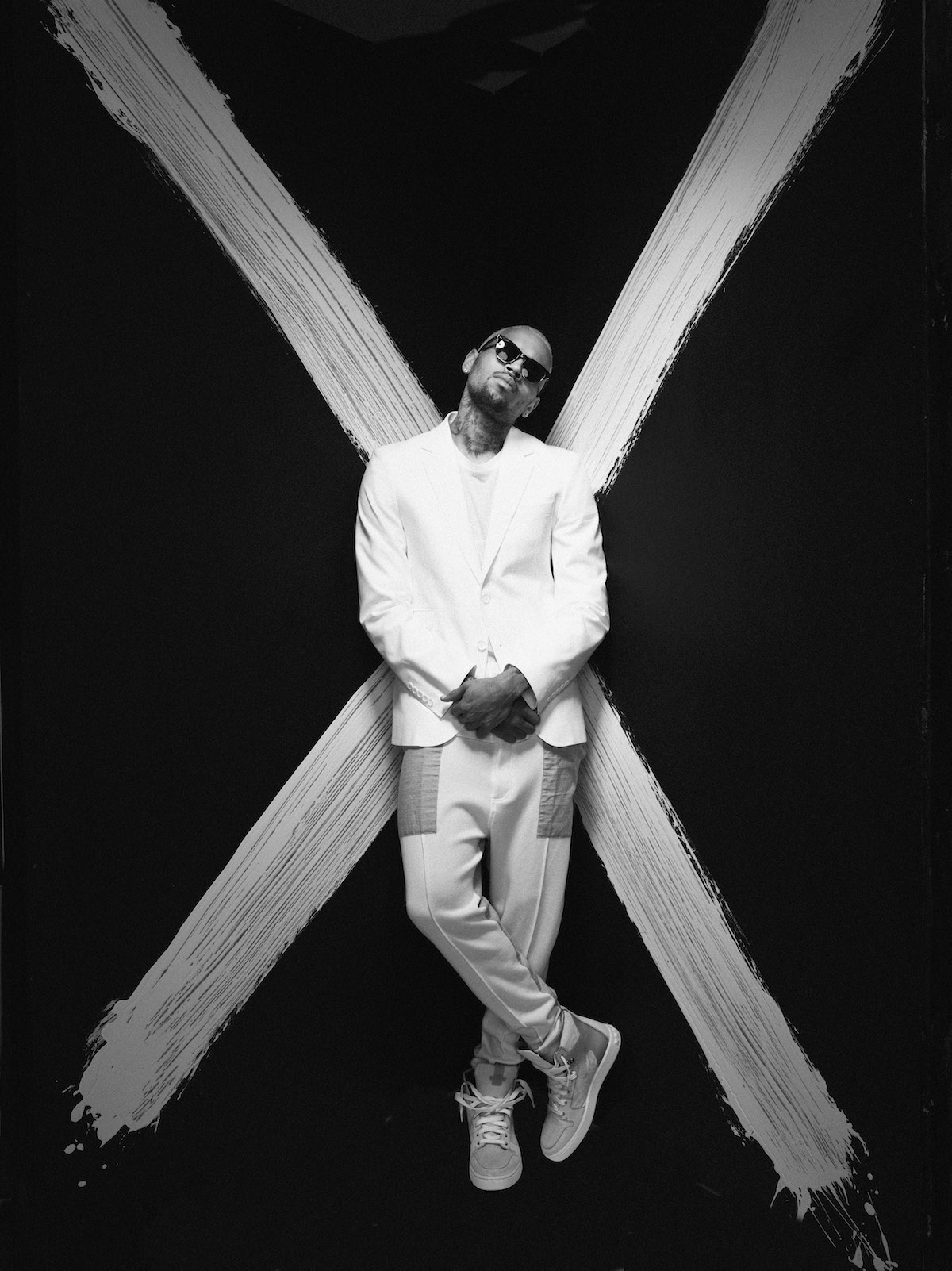 Chris Brown (Credit Sony Music)