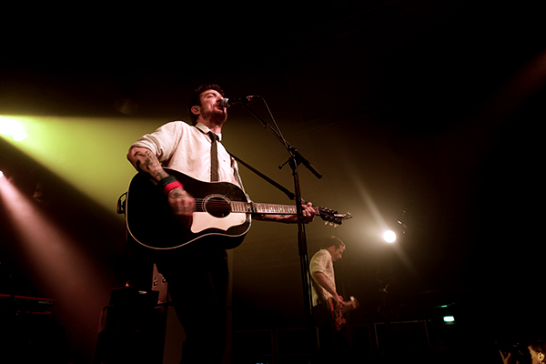 Frank Turner (Credit Michael Mederacke/MusikBlog)