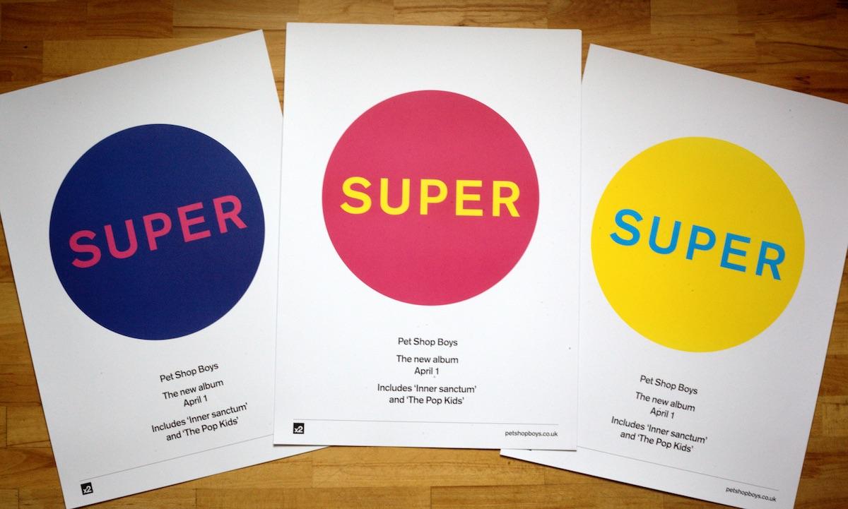 Pet Shop Boys – Super – Poster