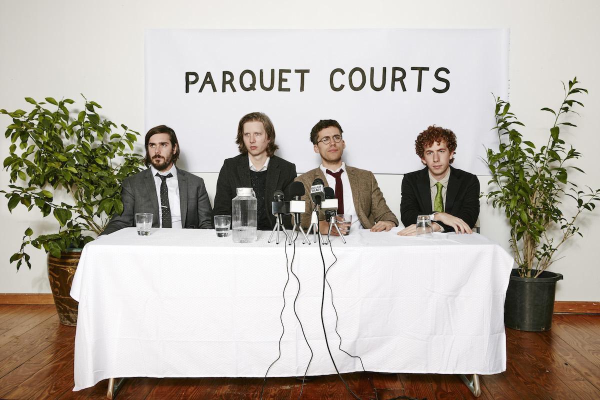 Parquet Courts (Credit Ben Rayner)