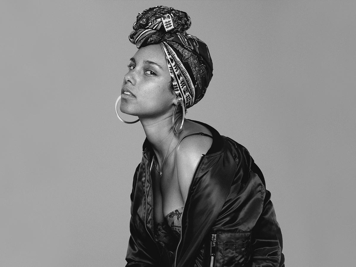Alicia Keys (Credit Sony Music)