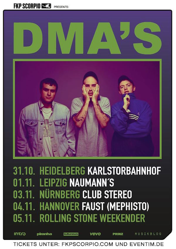 DMA's (Tourposter)
