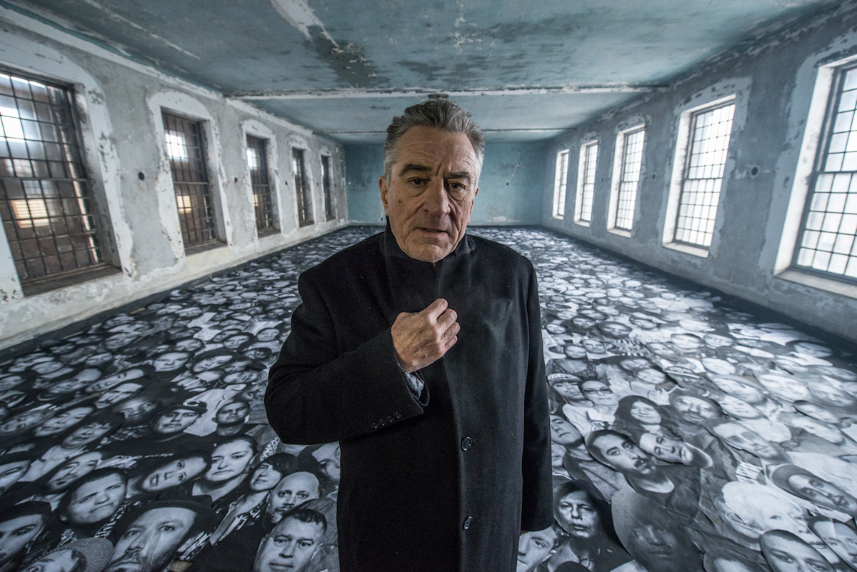 "Robert De Niro in ""Ellis"" (Credit JR)"