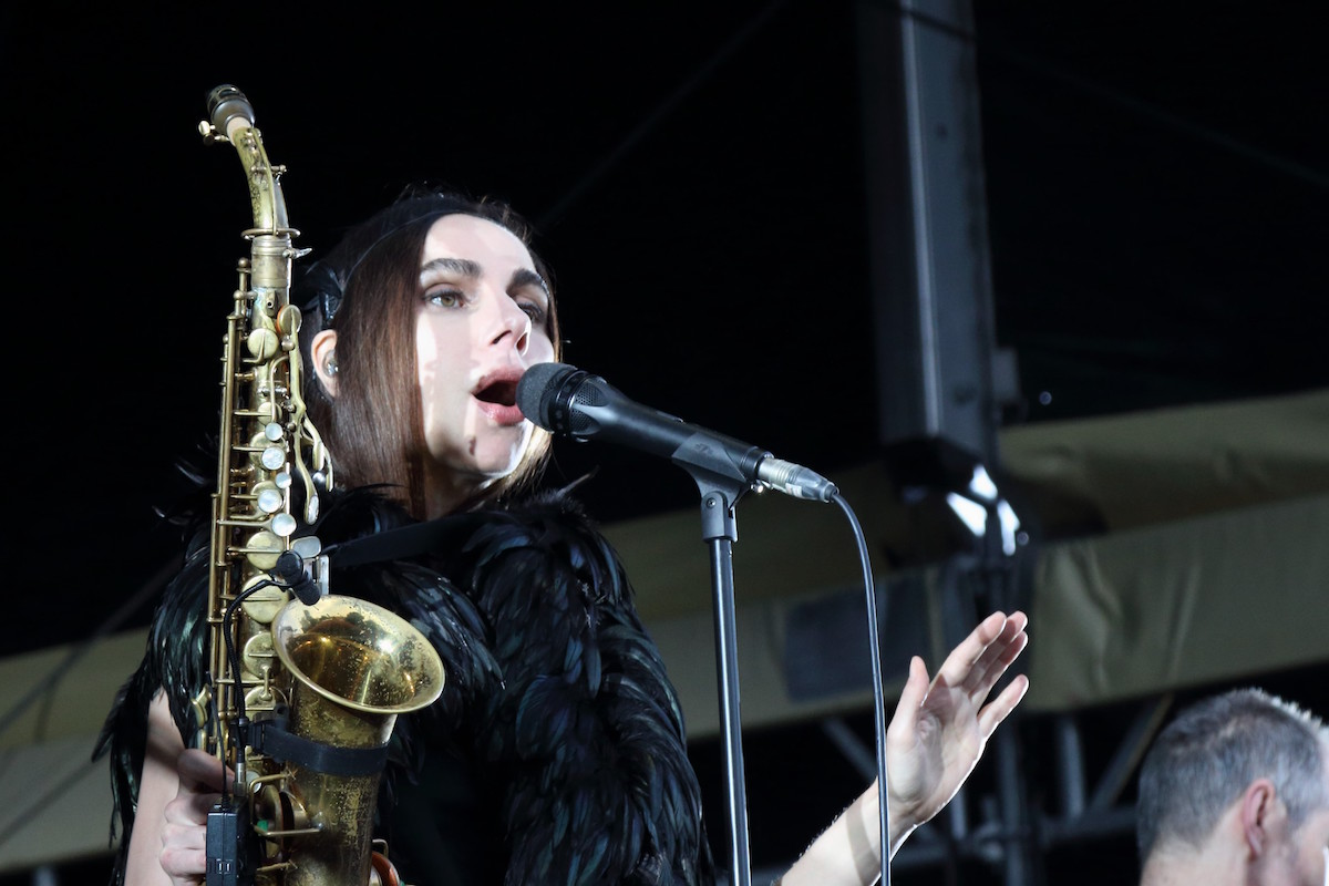 PJ Harvey (Credit Rene Bittner/MusikBlog)