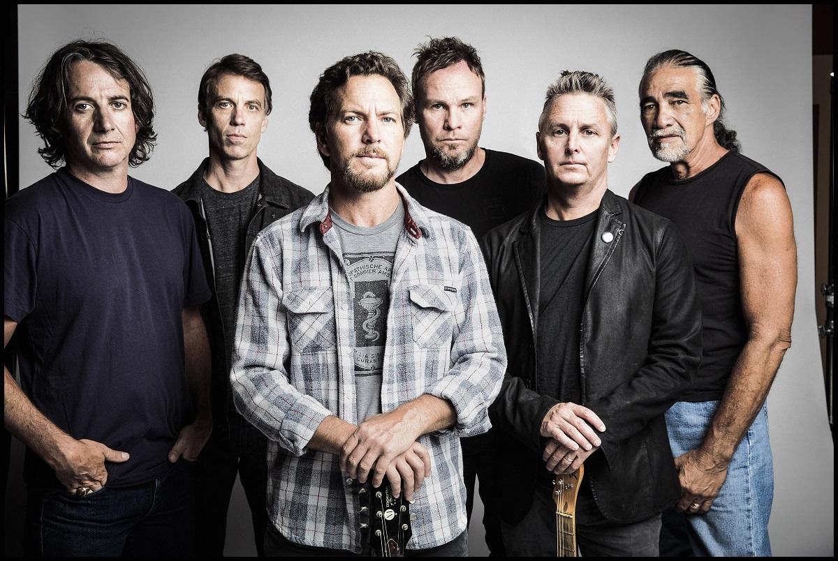 Pearl Jam (Credit Danny Clinch)