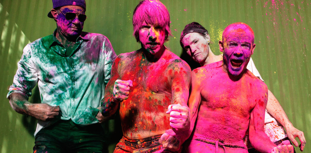 Red Hot Chili Peppers (Credit Steve Keros)