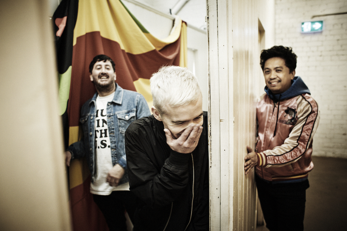 The Avalanches (Credit Steve Gullick)