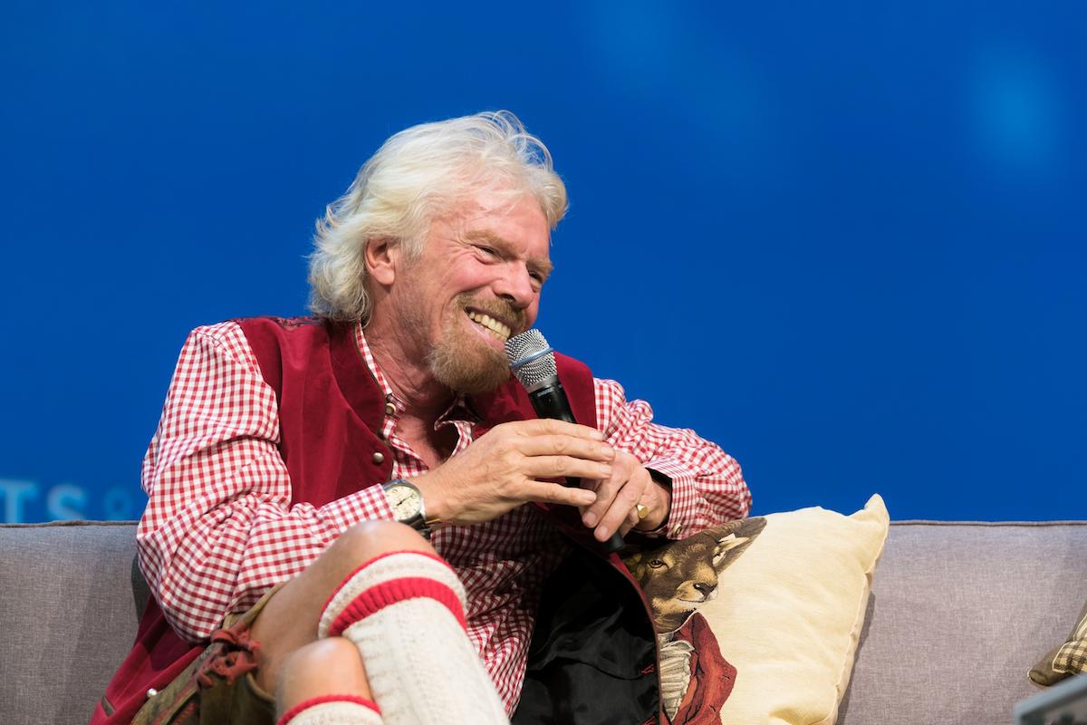 Richard Branson (Credit Dan Taylor/Heisenberg Media)