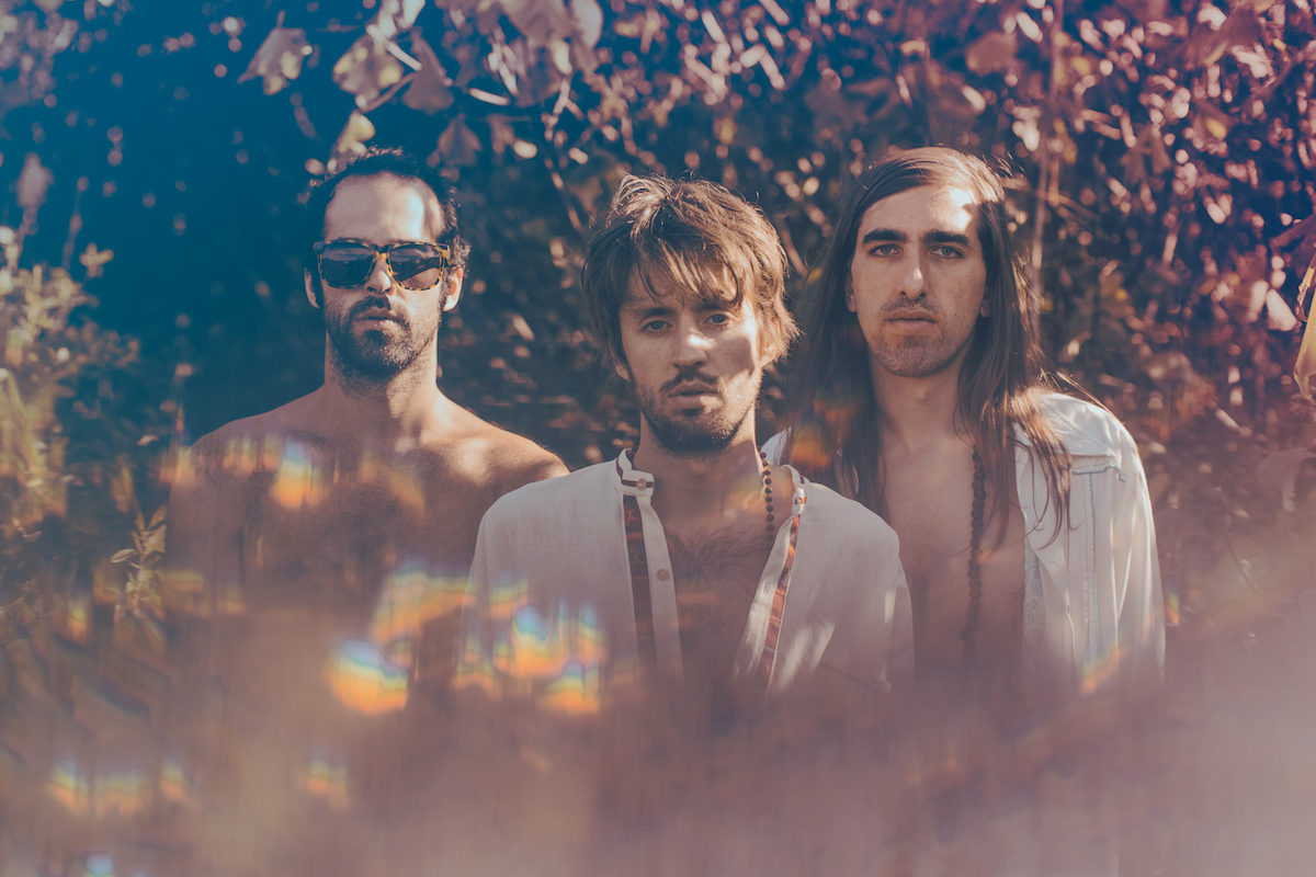 Crystal Fighters (Credit Jackson Grant)