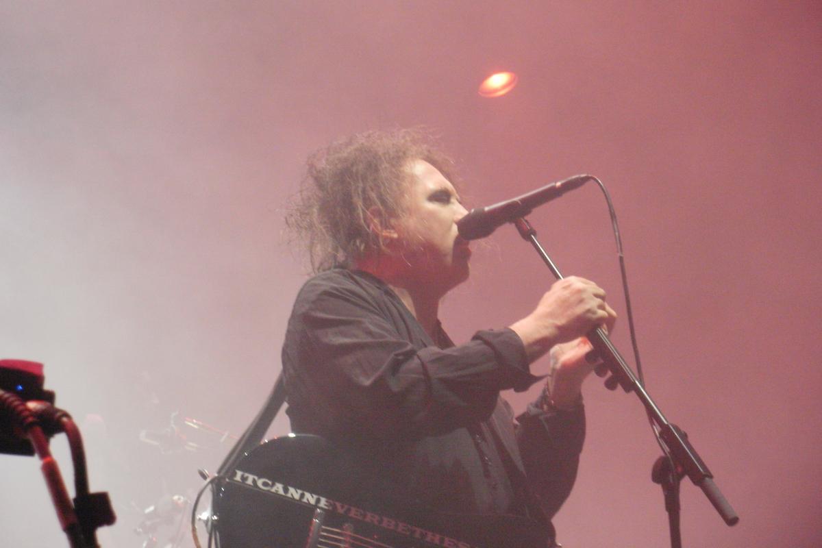 The Cure (Credit Matthias Zeiger/MusikBlog)