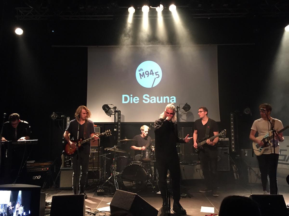 Die Sauna (Credit MusikBlog)