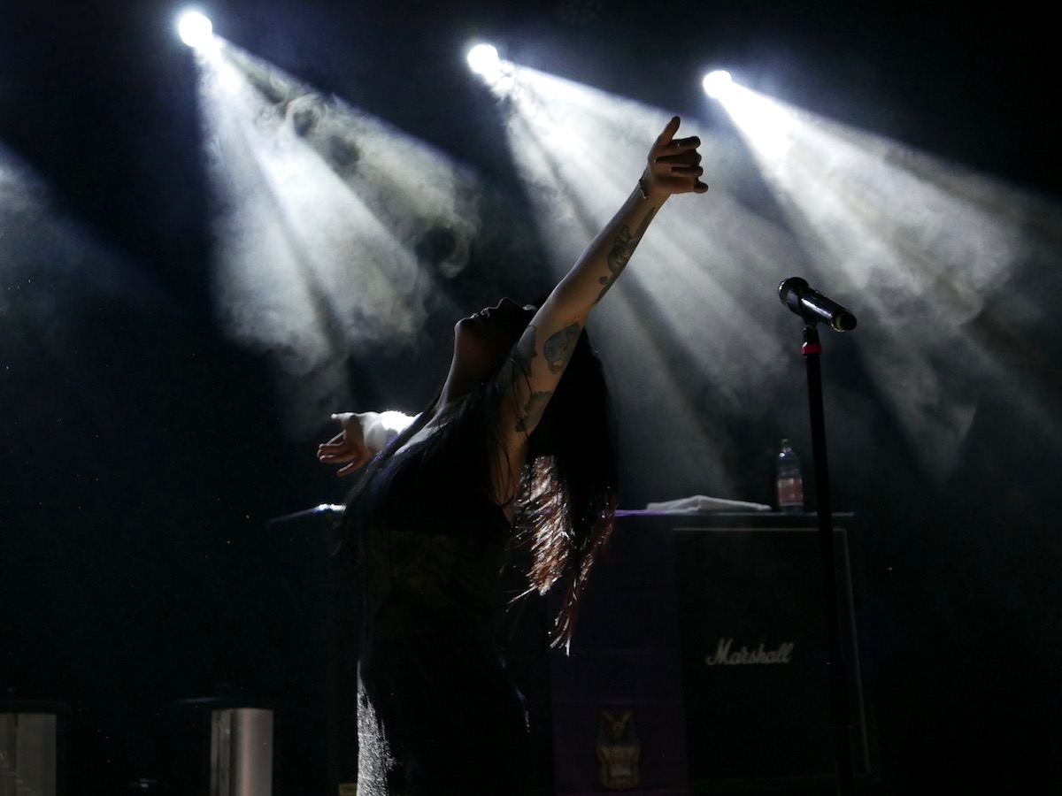 Sleigh Bells (Credit Birgit Martin/MusikBlog)