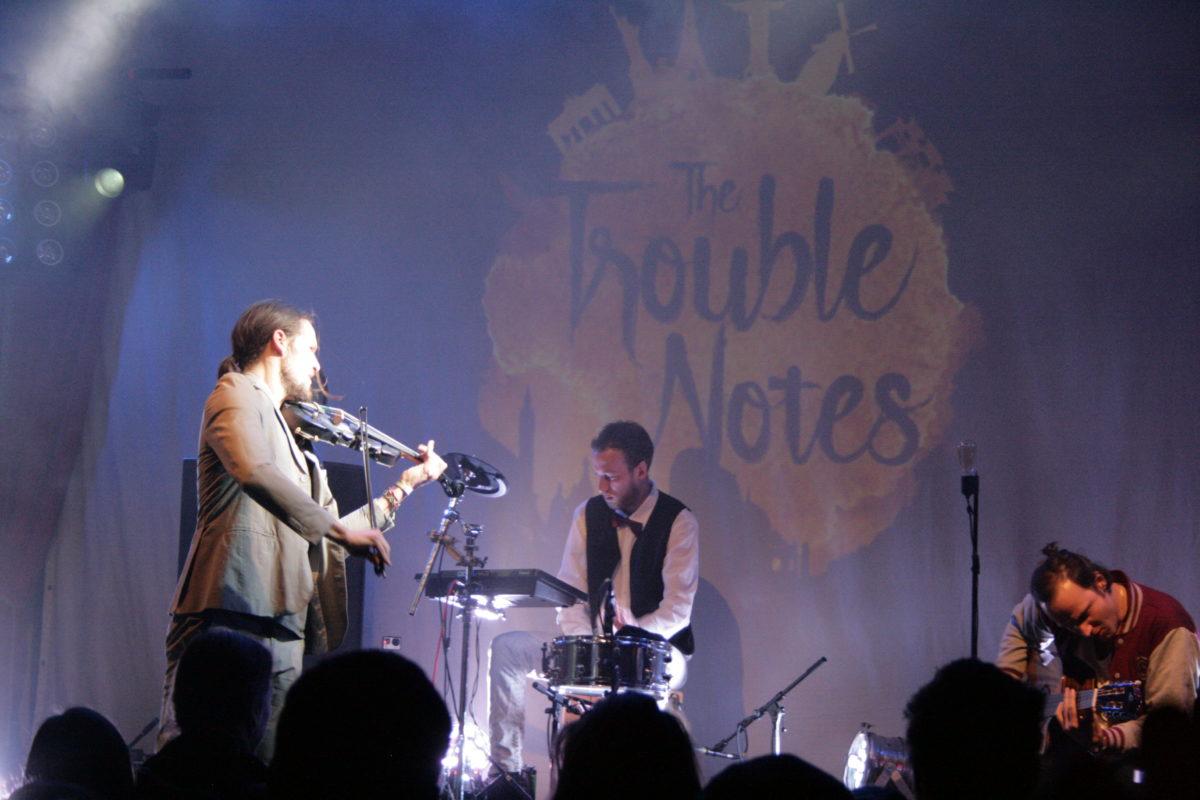 The Trouble Notes (Credit Alexander Mühlmann/MusikBlog)