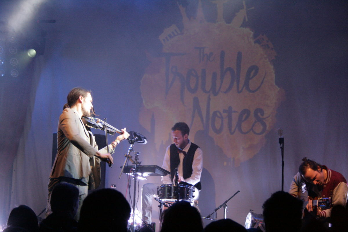 The Trouble Notes (Credit Alexander Mühlmann/MusikBlog)