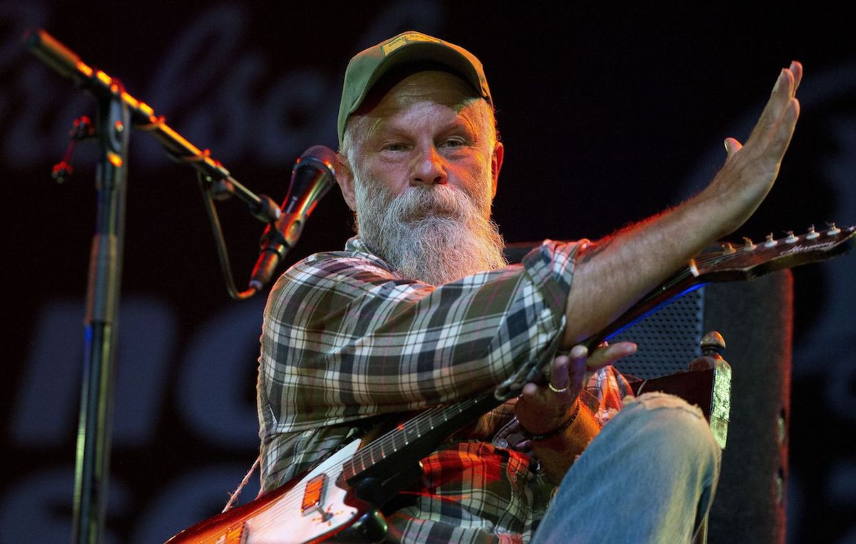 Seasick Steve (Credit ANP/Paul Bergen)