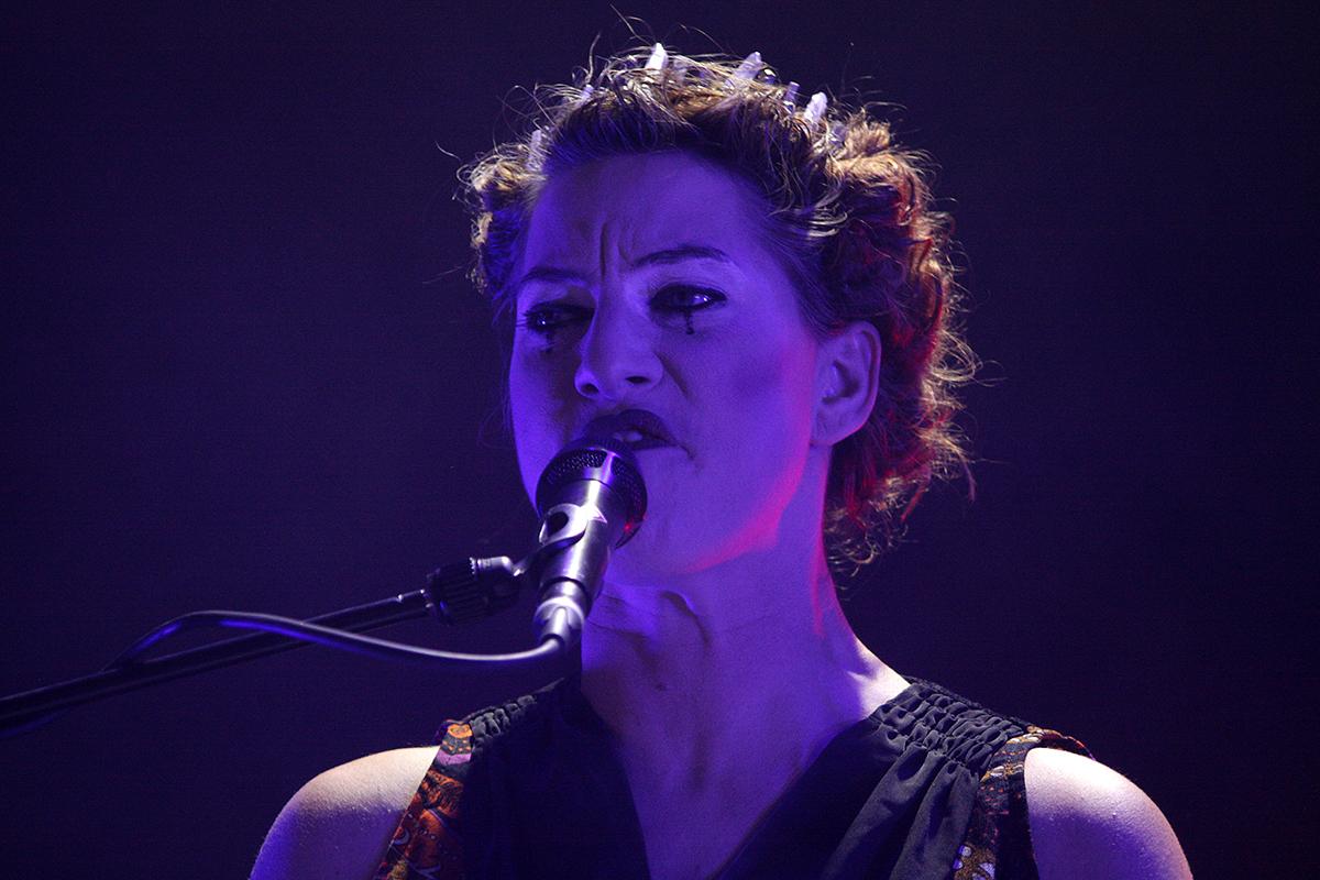 Amanda Palmer (Credit Daniel Thomas/MusikBlog)