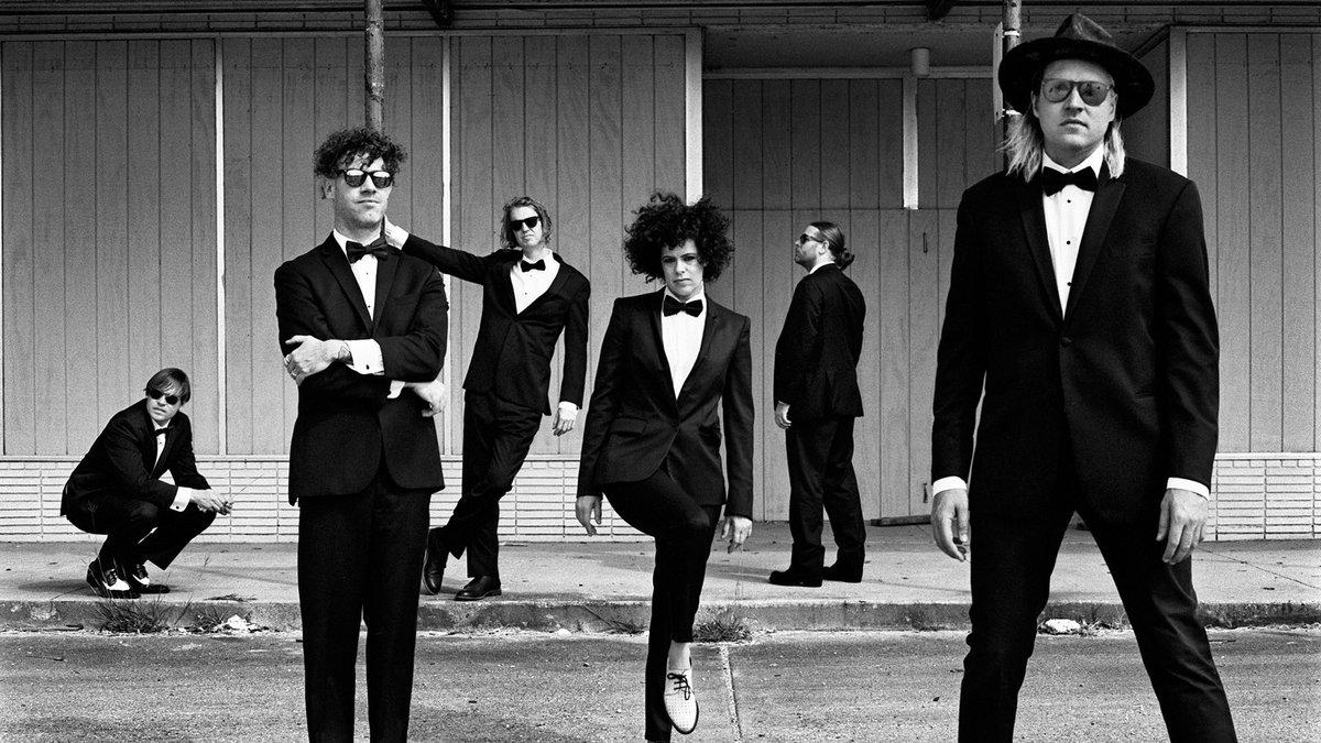 Arcade Fire (Credit Anton Corbijn)