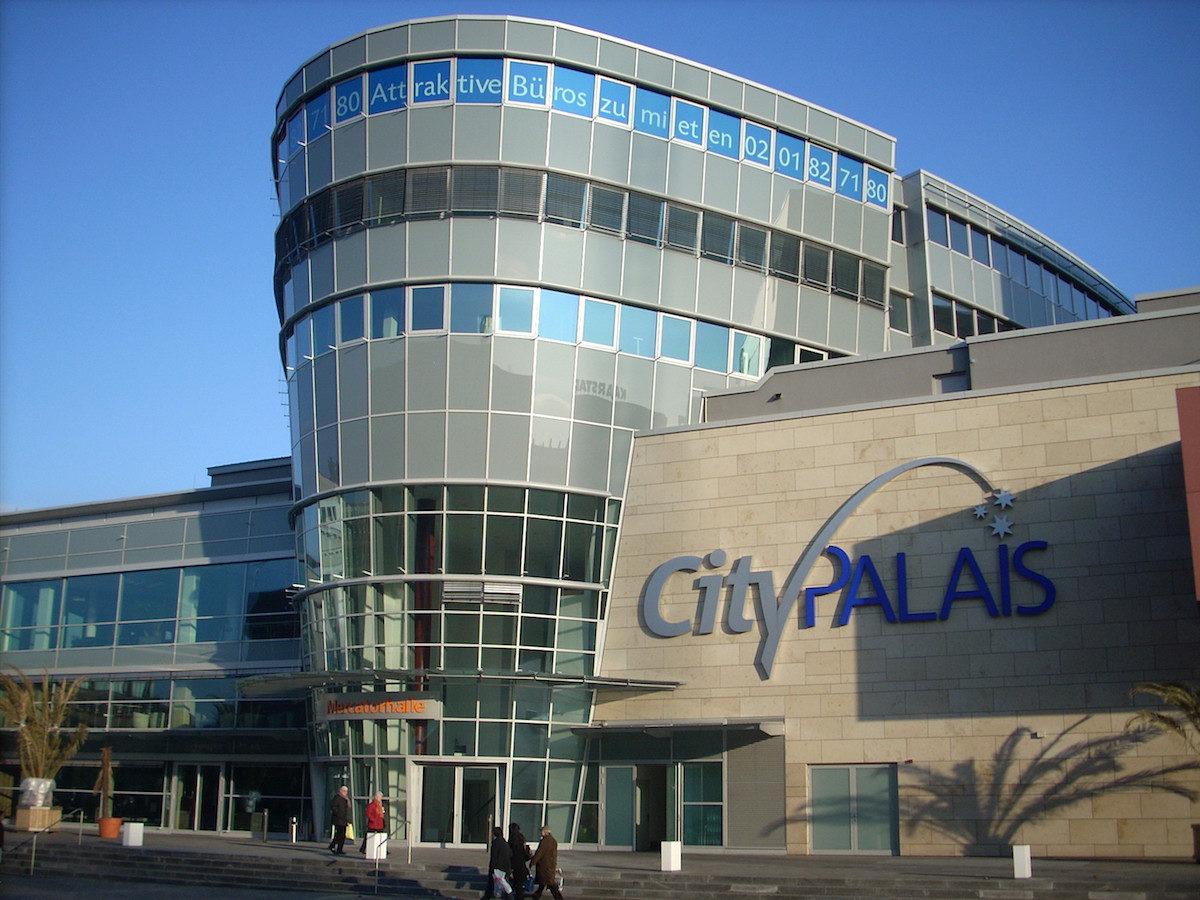 Eingang Mercatorhalle, Duisburg