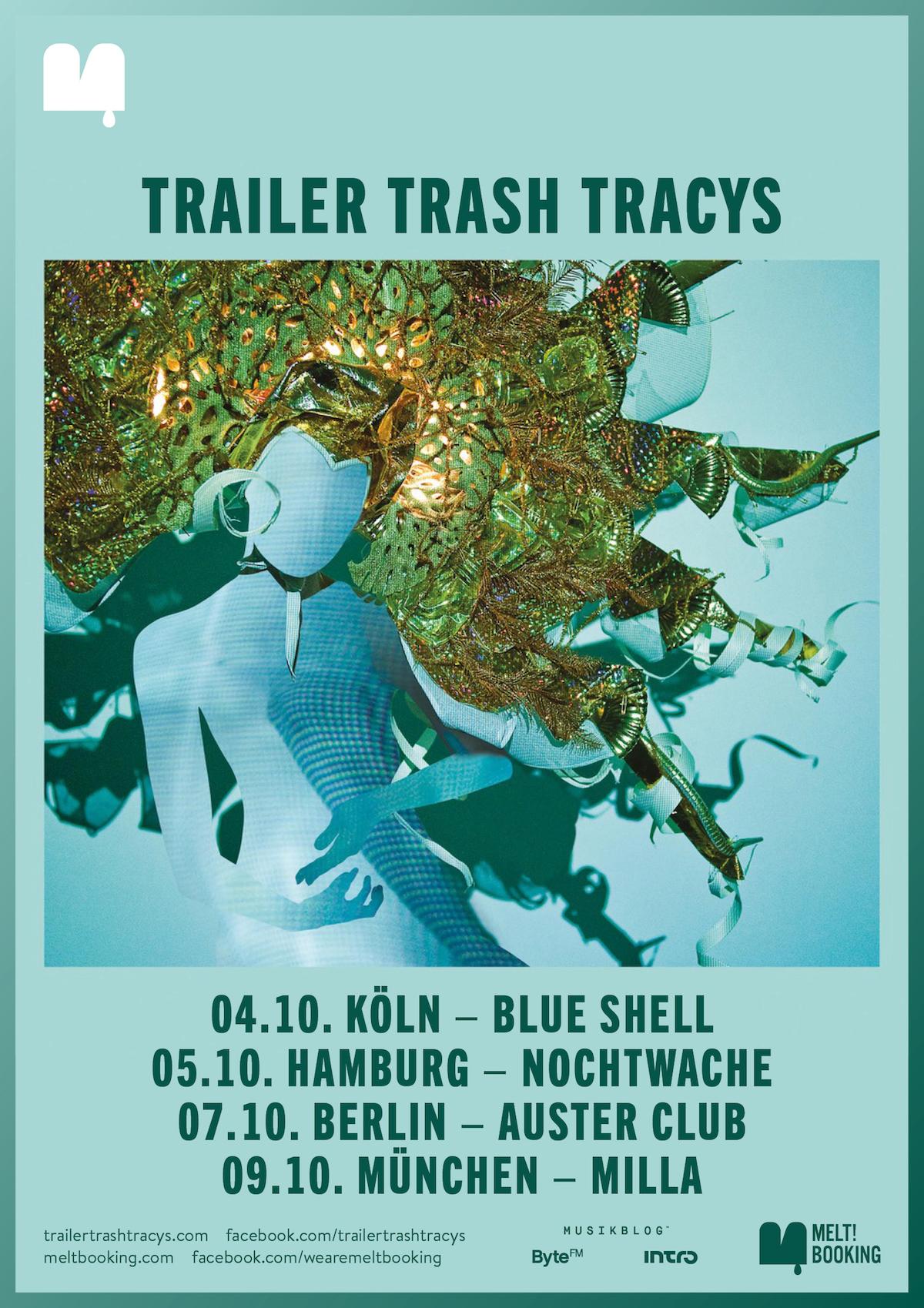 Trailer Trash Tracys (Tourposter)