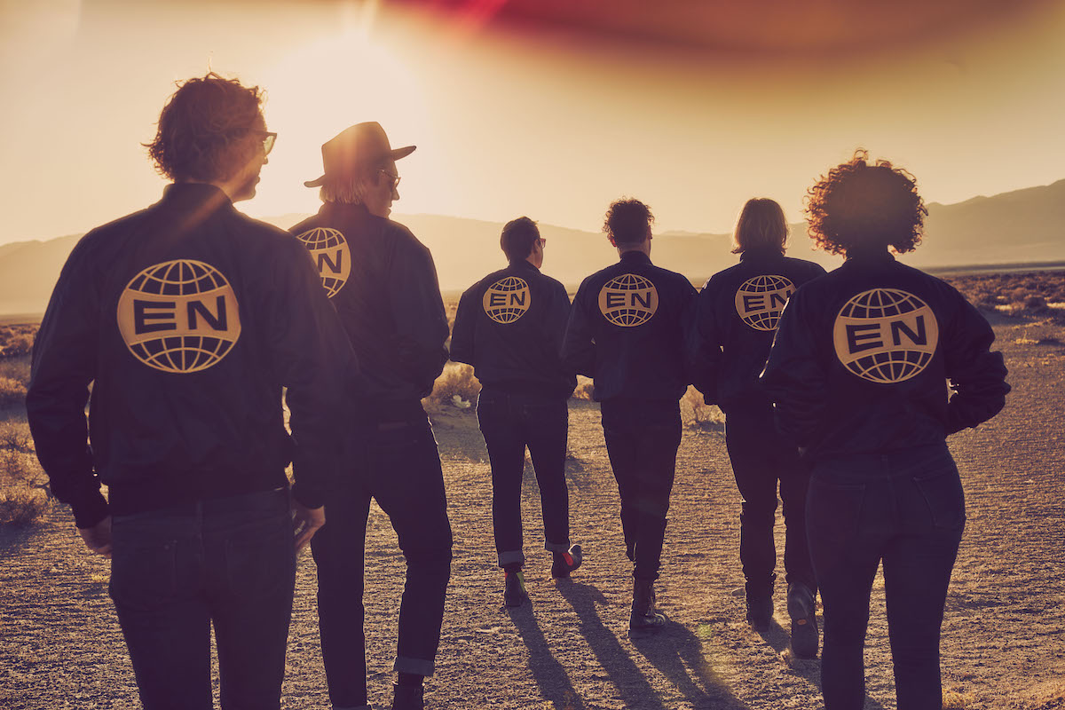 Arcade Fire (Credit Guy Aroch)