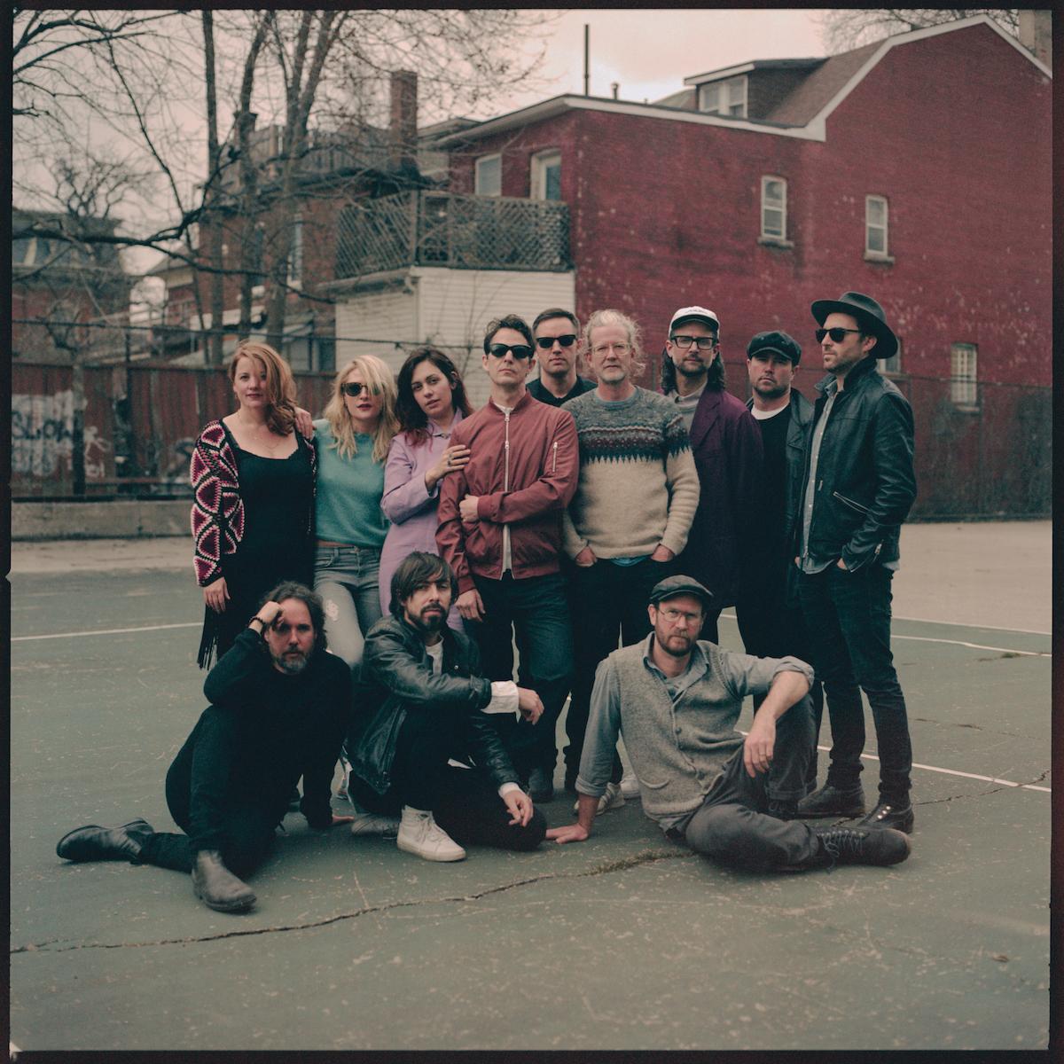 Broken Social Scene (Credit Norman Wong)