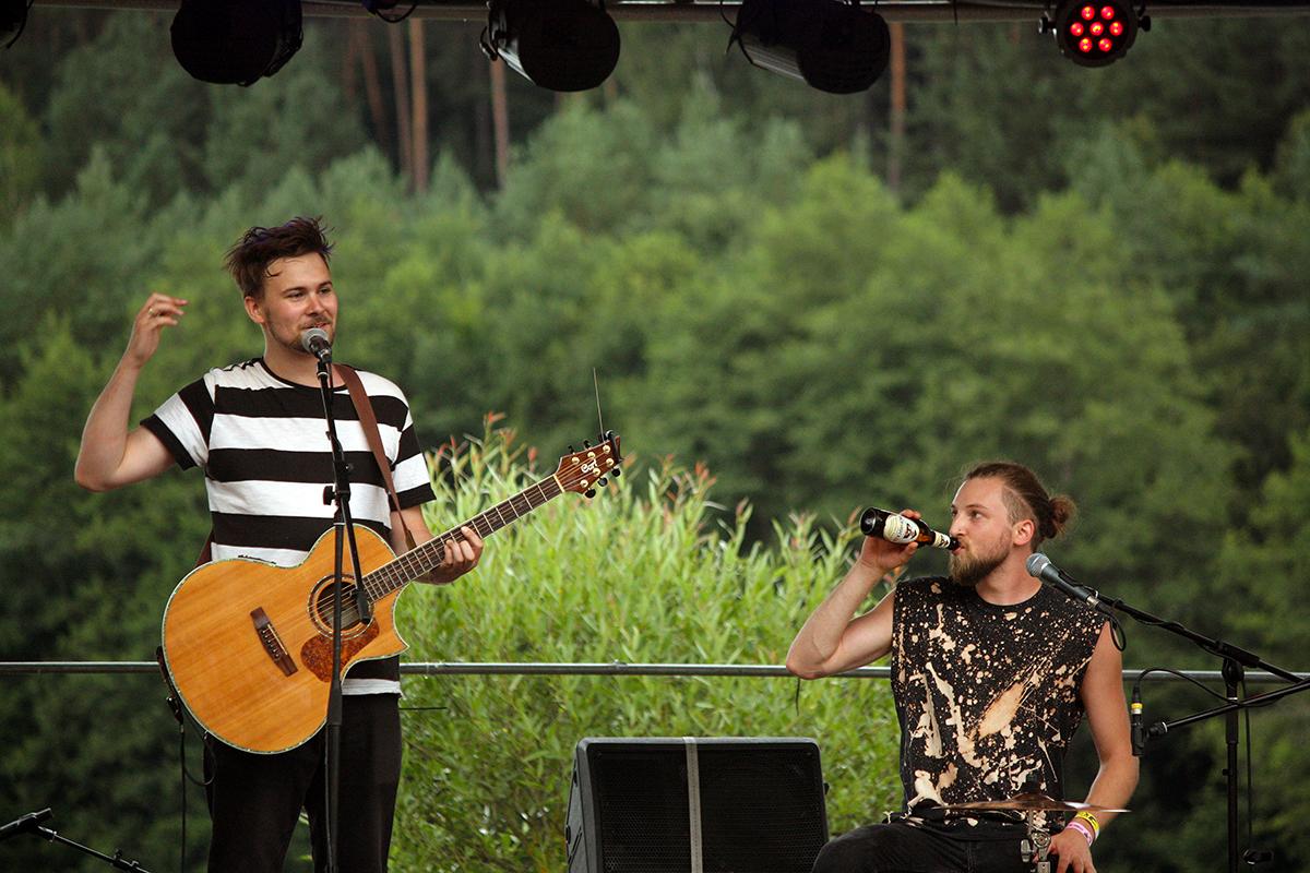 Astra Van Nelle Und Der Loorberstorch (Credit Daniel Thomas/MusikBlog)
