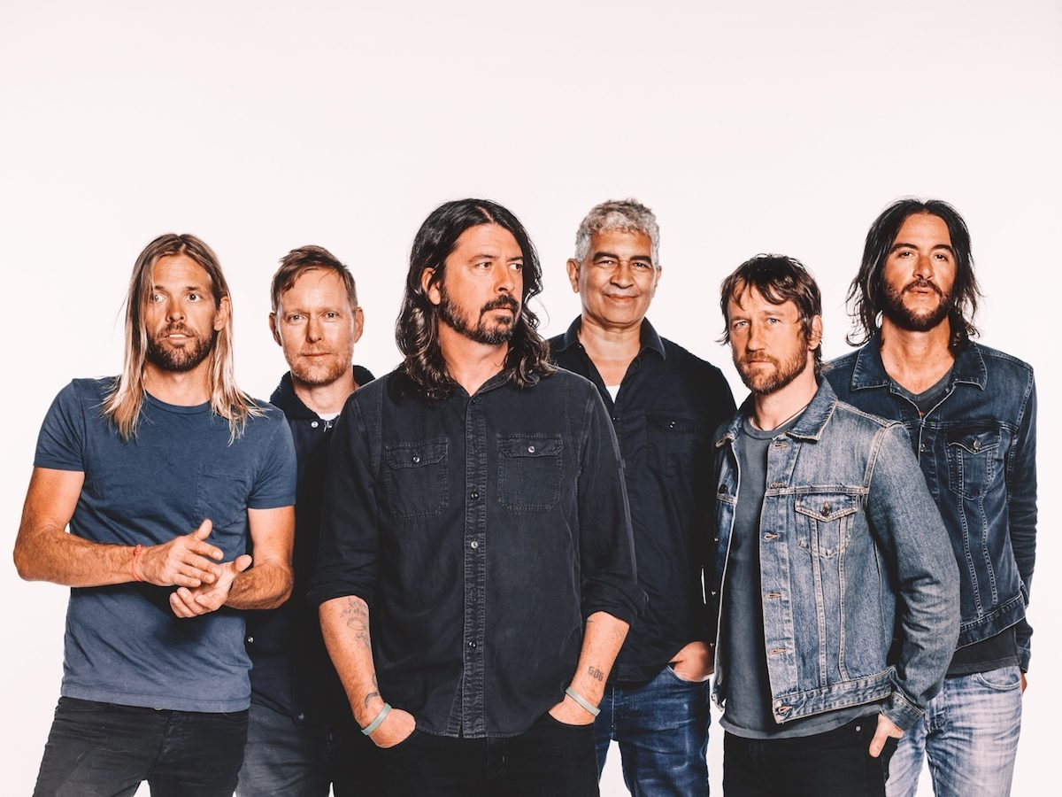 Foo Fighters (Credit Sony Music)