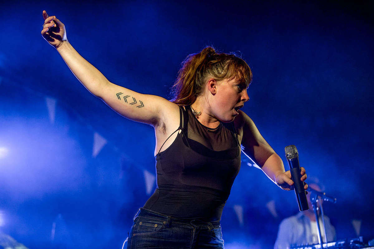 Sylvan Esso (Credit Poppy Marriott/Dork)