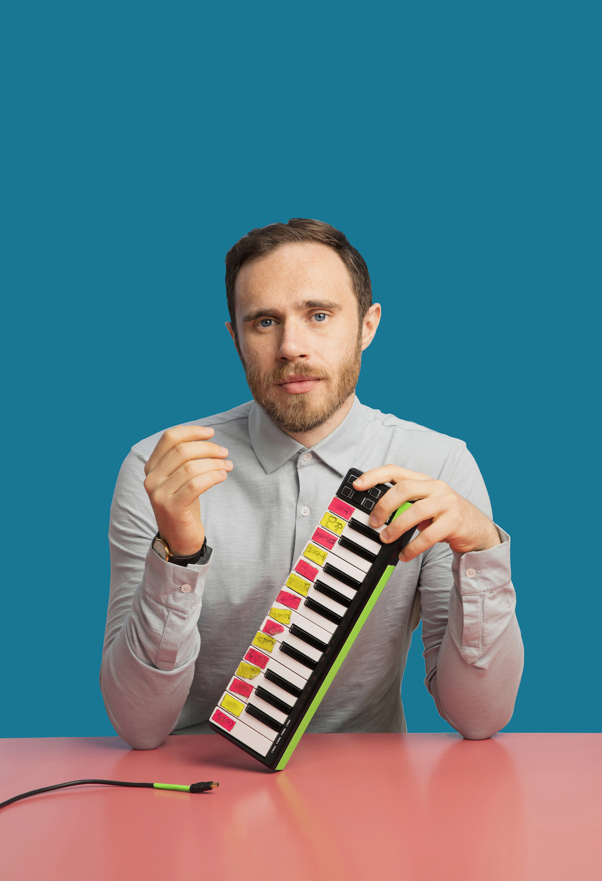 James Vincent McMorrow (Credit Sarah Doyle)