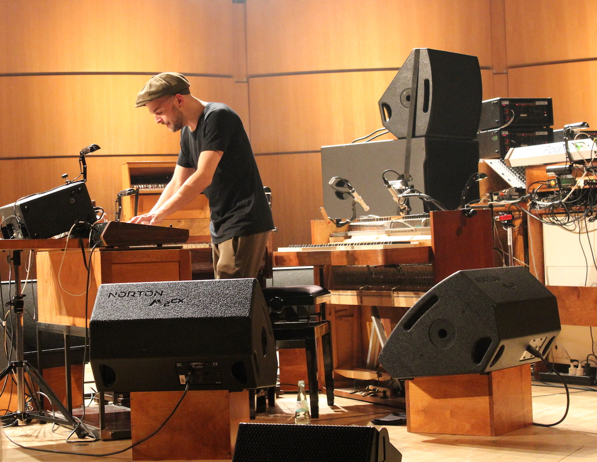 Nils Frahm (Credit Katharina Raskob/MusikBlog)