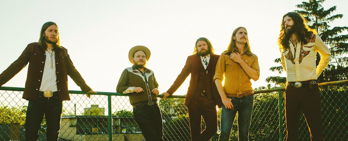 The Sheepdogs (Credit Dine Alone)