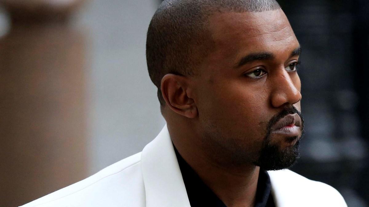 Kanye West (Credit AP Photo/PA, Jonathan Brady/TT)
