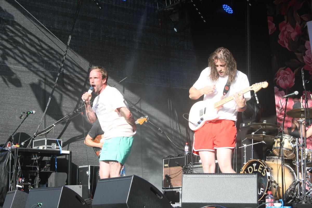 Idles (Credit Alexander Mühlmann/MusikBlog)