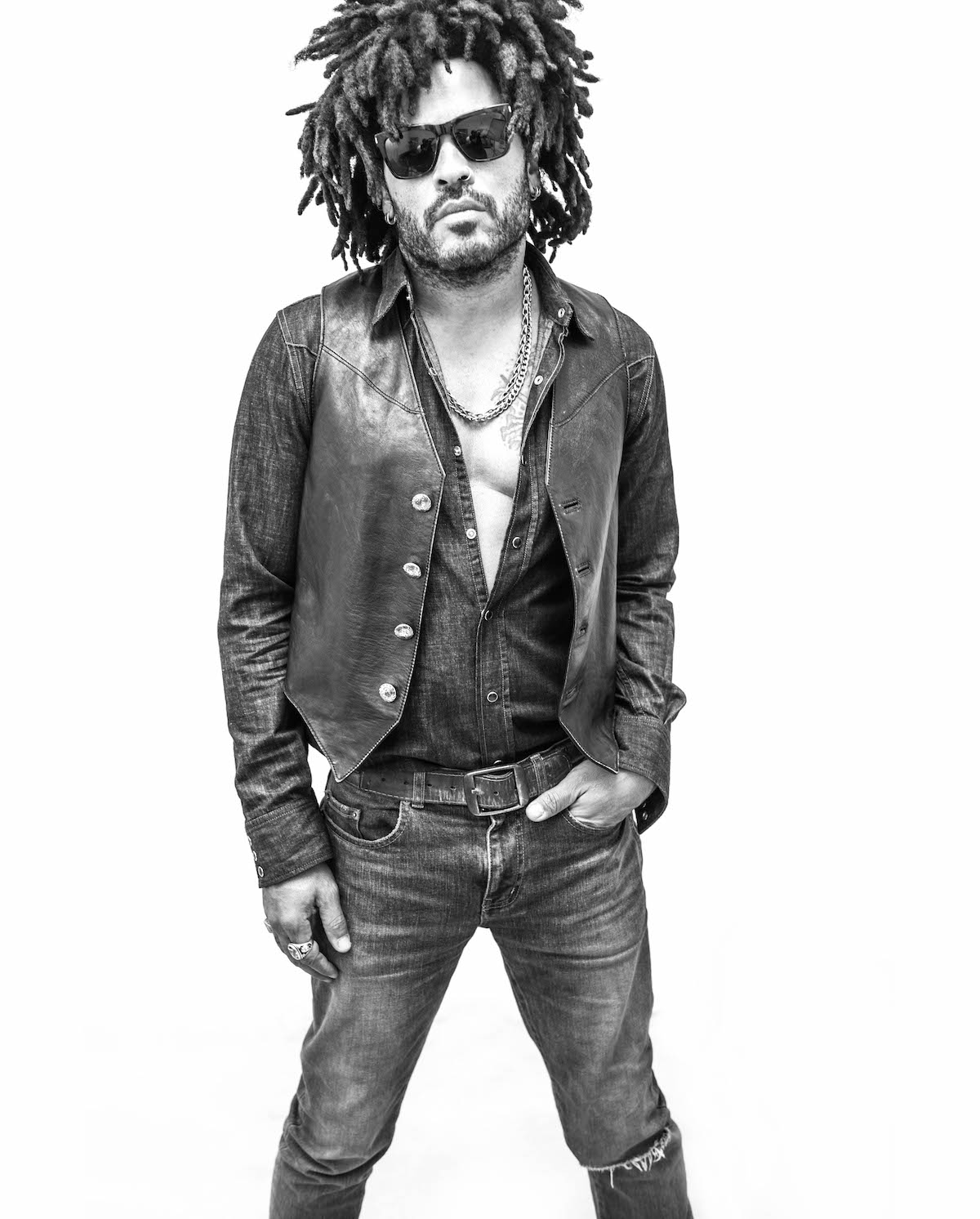 Lenny Kravitz (Credit Mathieu Bitton)