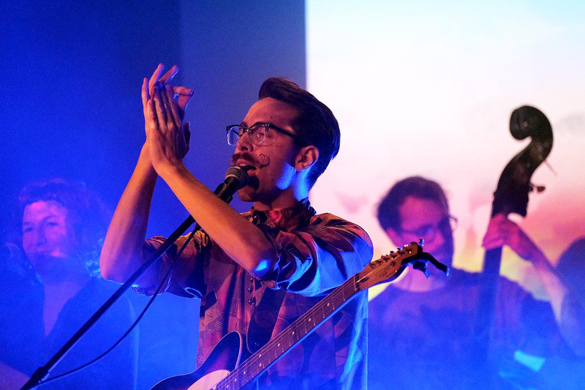 Dominik Baer (Credit Daniel Thomas/MusikBlog)