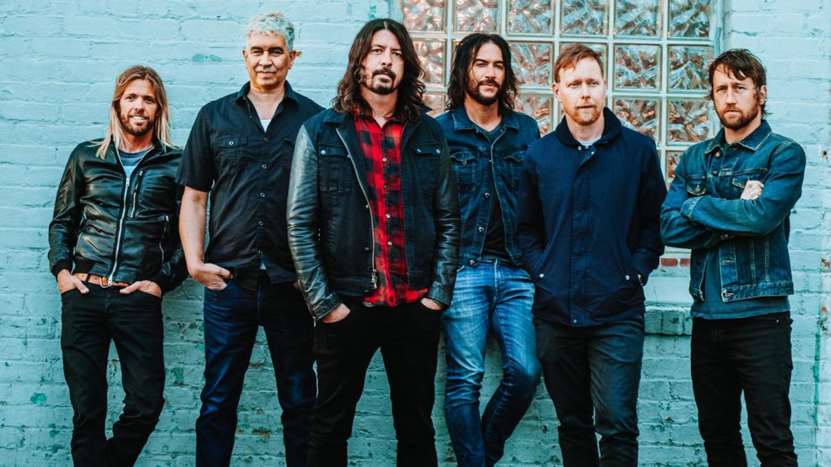 Foo Fighters (Credit Brantley Gutierrez)