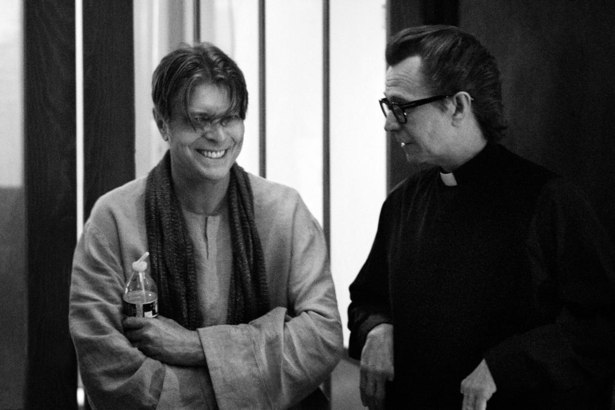 David Bowie & Gary Oldman (Credit Floria Sigismondi)